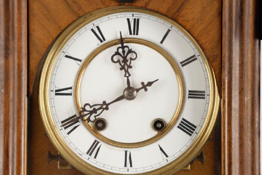 German Junghans Ebonized Wall Hanging Clock - 2