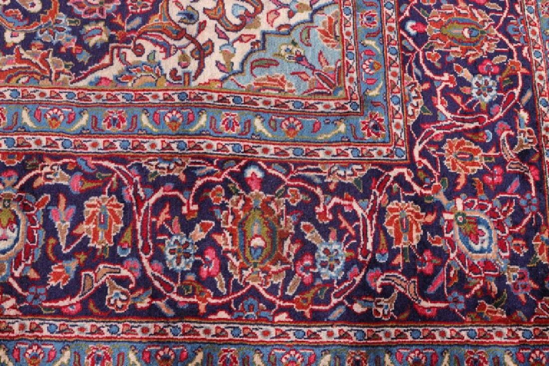 "Hand Woven Persian Mashad Area Rug 9' 6"" x 12' 9"" - 6"