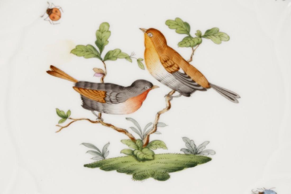 Two Herend Rothschild Bird Serving Pieces - 2