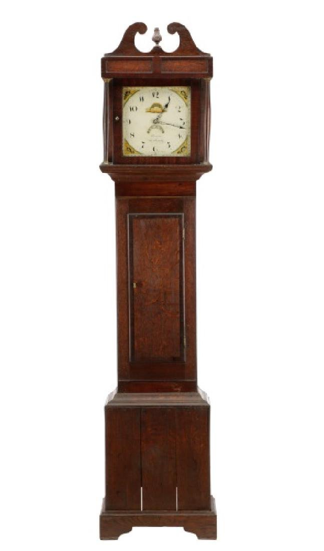 English 30-Hour Tallcase Clock by Brown, Ledbury