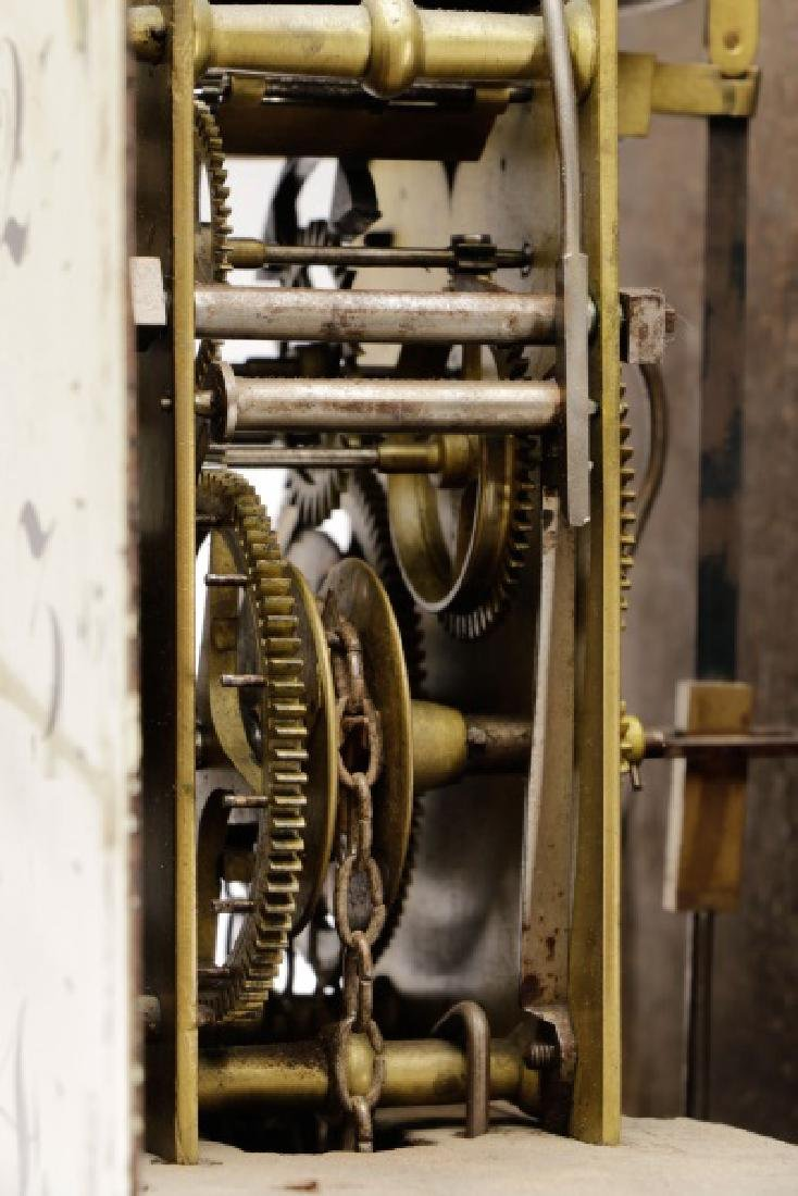 English 30-Hour Tallcase Clock by Brown, Ledbury - 7