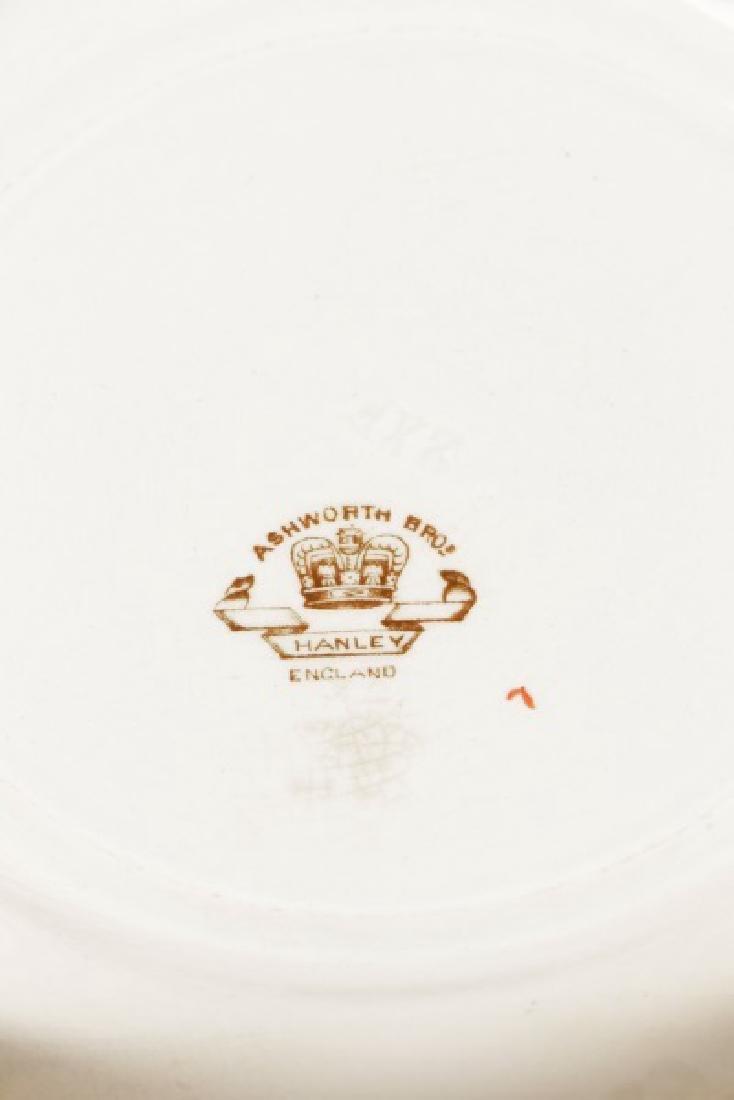 Set of 11 English Ashworth Imari Style Plates - 5