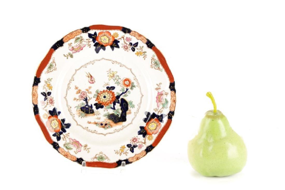 Set of 11 English Ashworth Imari Style Plates - 7