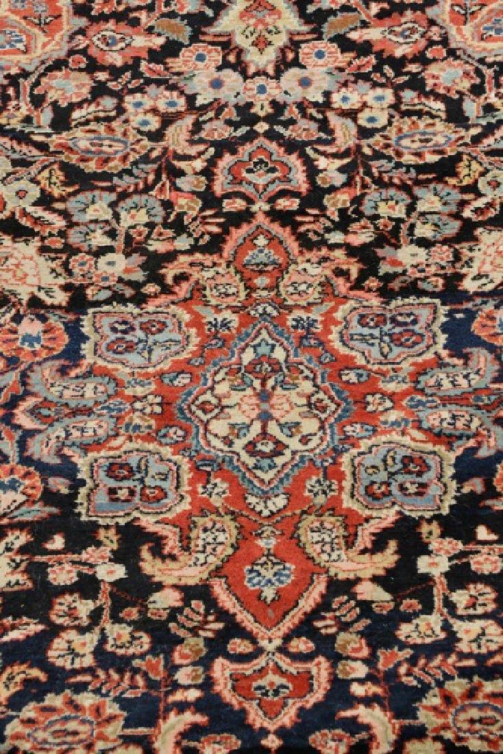 """Hand Woven Persian Malayer Rug, 4' 3"""" x 6' 10"""" - 2"""