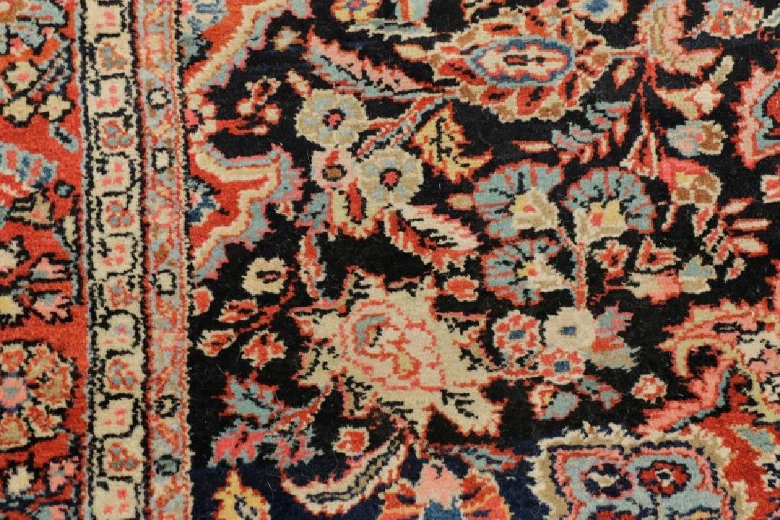 """Hand Woven Persian Malayer Rug, 4' 3"""" x 6' 10"""" - 6"""