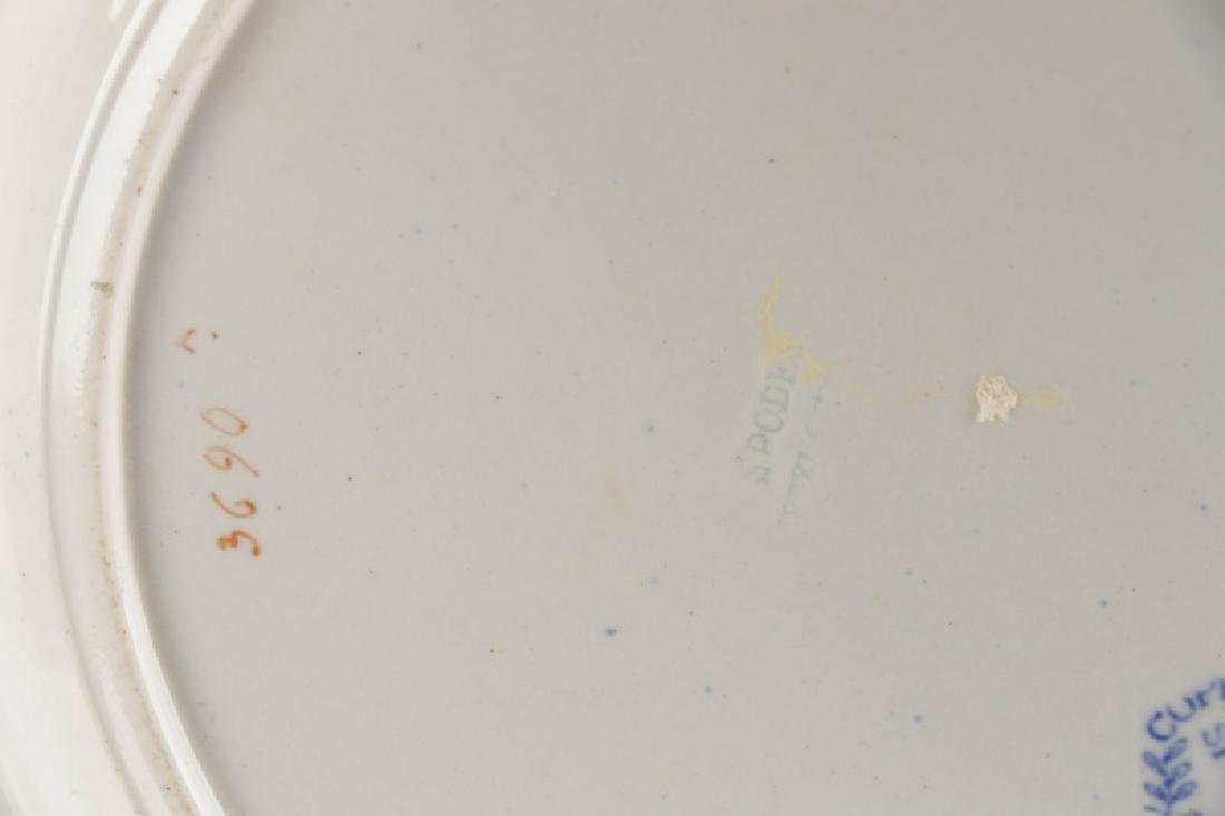 8 Copeland Garrett Late Spode Plates, 19 C. - 6