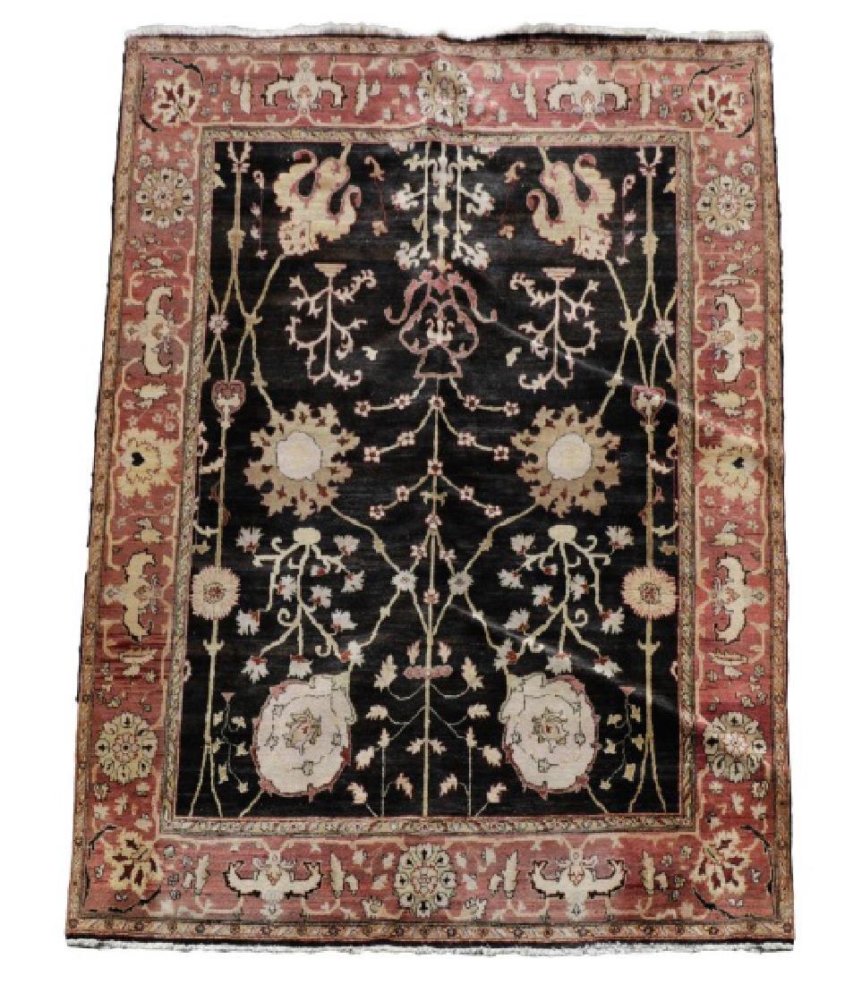 "Hand Woven Agra Area Rug, 7' 10"" x 10'"