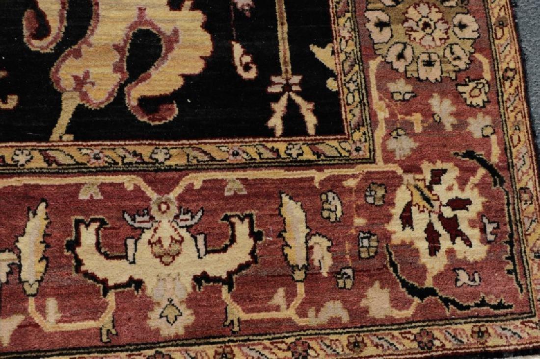 "Hand Woven Agra Area Rug, 7' 10"" x 10' - 3"