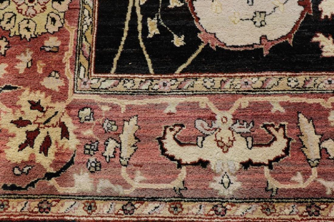 "Hand Woven Agra Area Rug, 7' 10"" x 10' - 4"