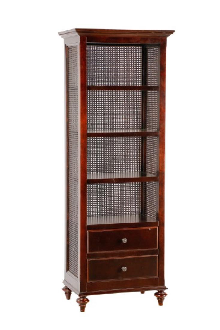Restoration Hardware Rattan Bathroom Cabinet