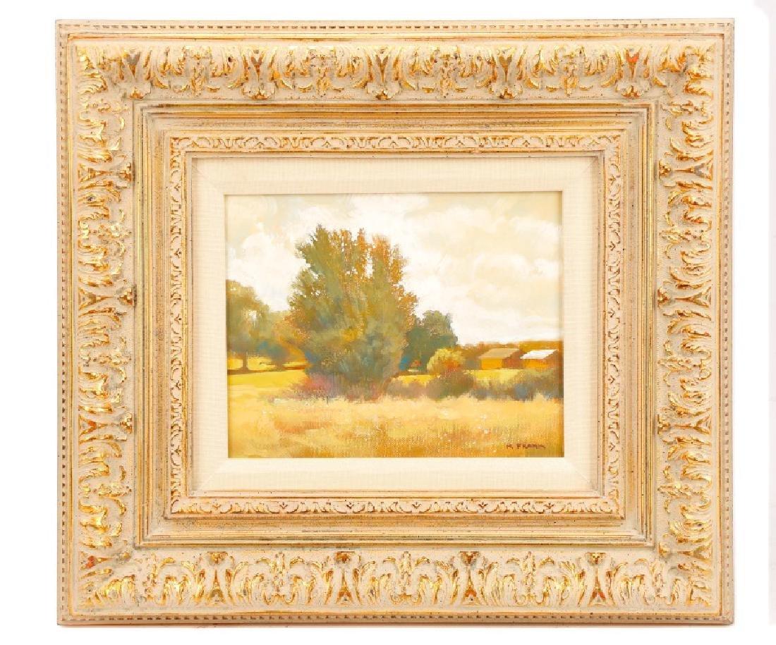 "R. Frank, ""Golden Hour,"" Oil on Canvas"