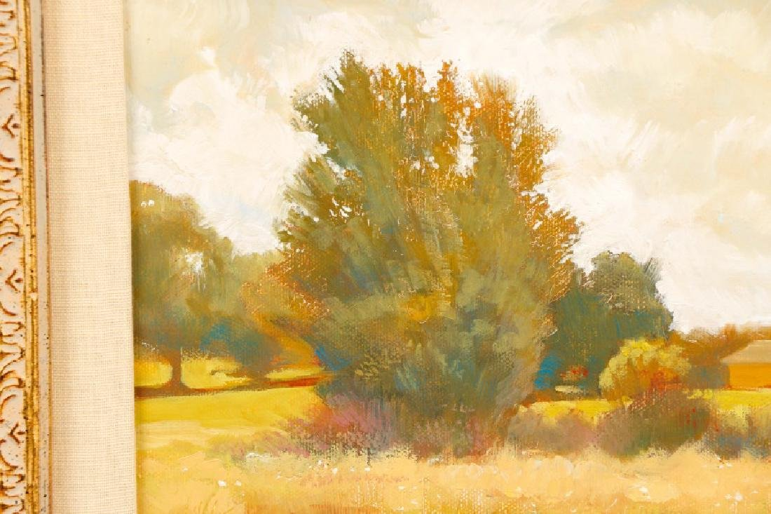 "R. Frank, ""Golden Hour,"" Oil on Canvas - 2"