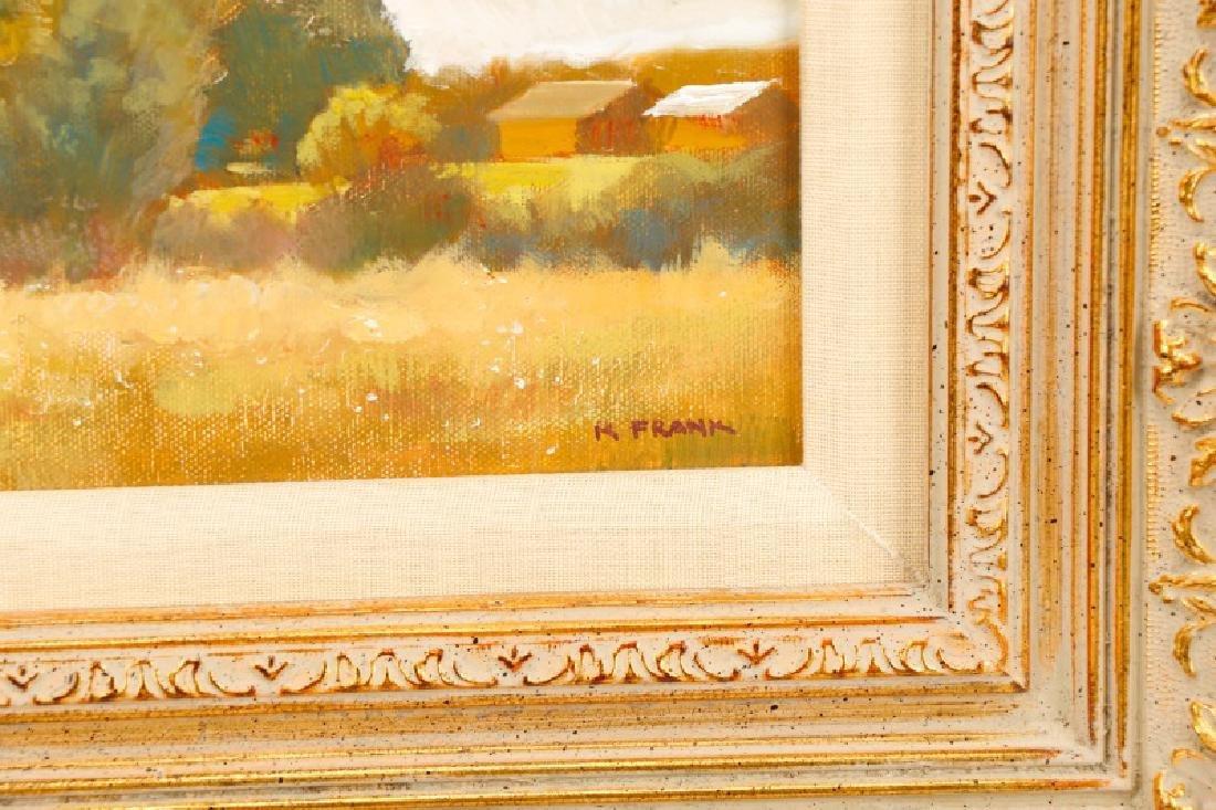 "R. Frank, ""Golden Hour,"" Oil on Canvas - 3"