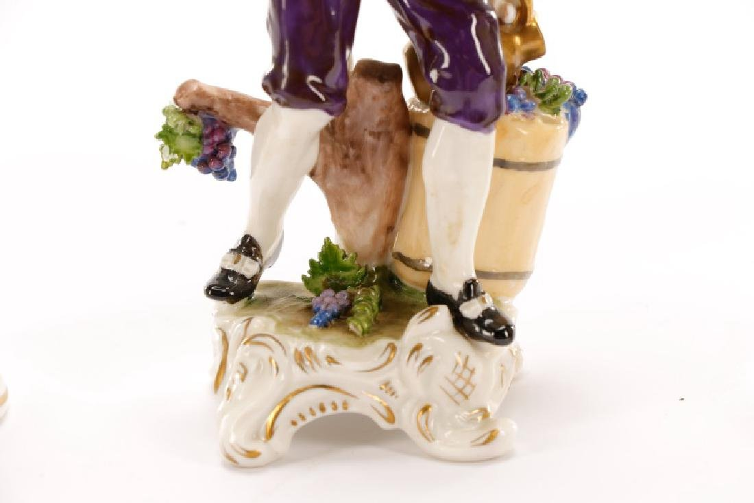 Group of 3 Porcelain Figurines, Rudolf Kammer - 4