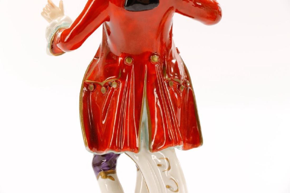 Group of 3 Porcelain Figurines, Rudolf Kammer - 9