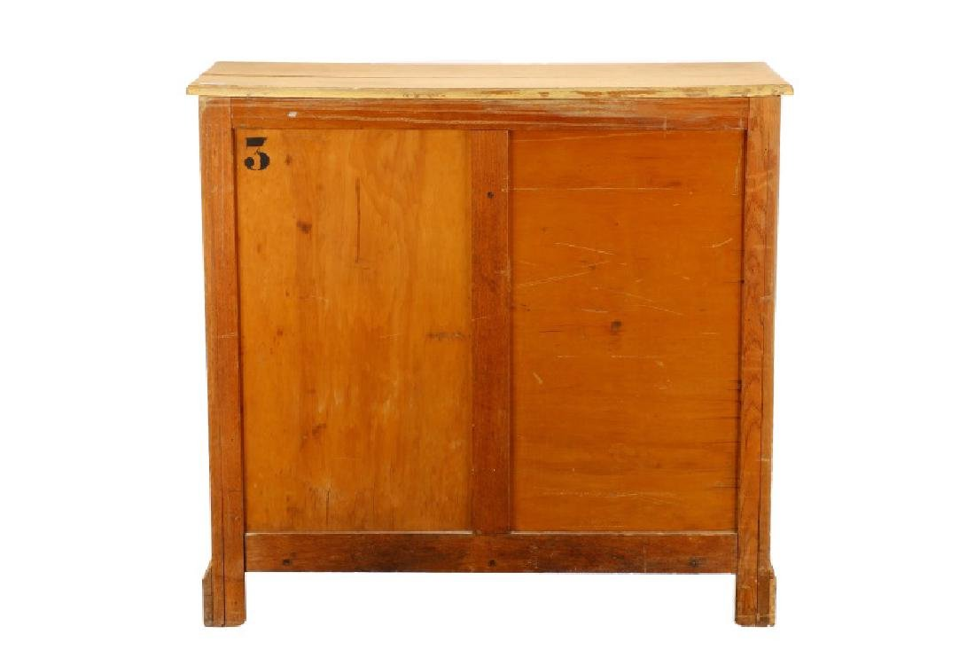 English Georgian Style Stripped Oak Chest - 6