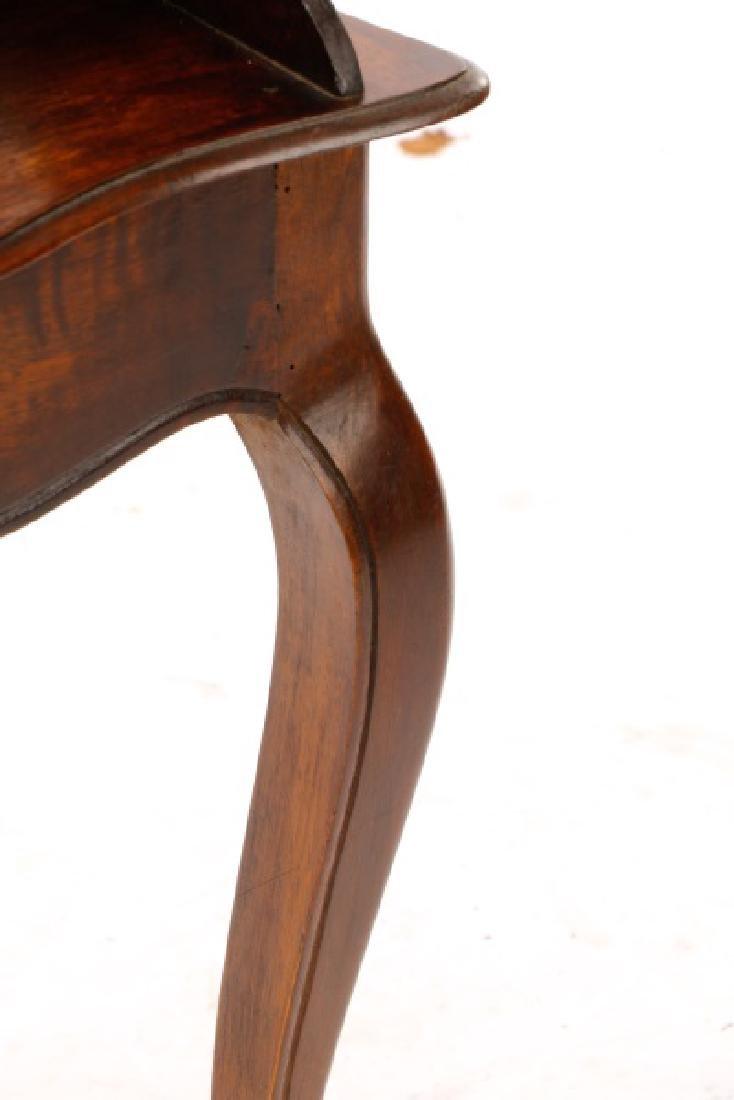 French Provincial Style Walnut Chevet - 5