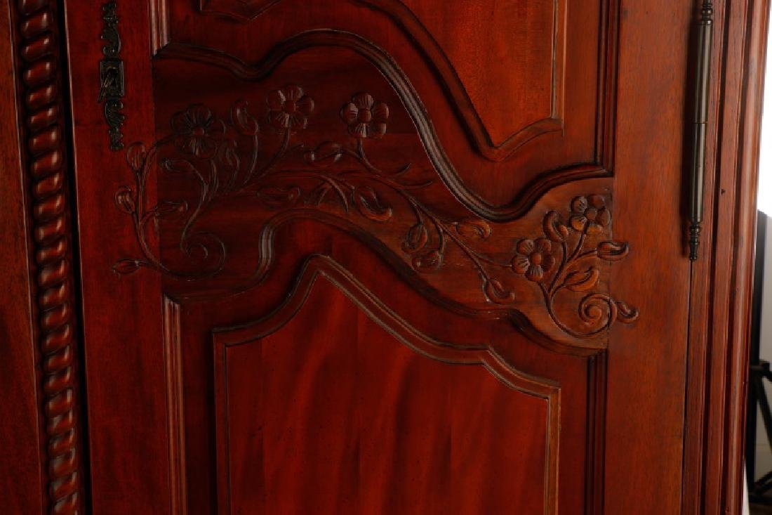 French Provincial Style Armoire - 2