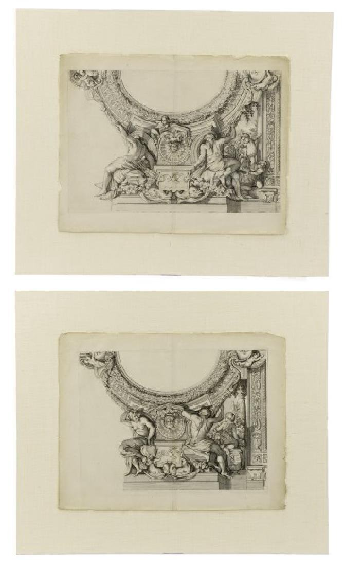 Continental, Paris Opera House Ornament, Etchings