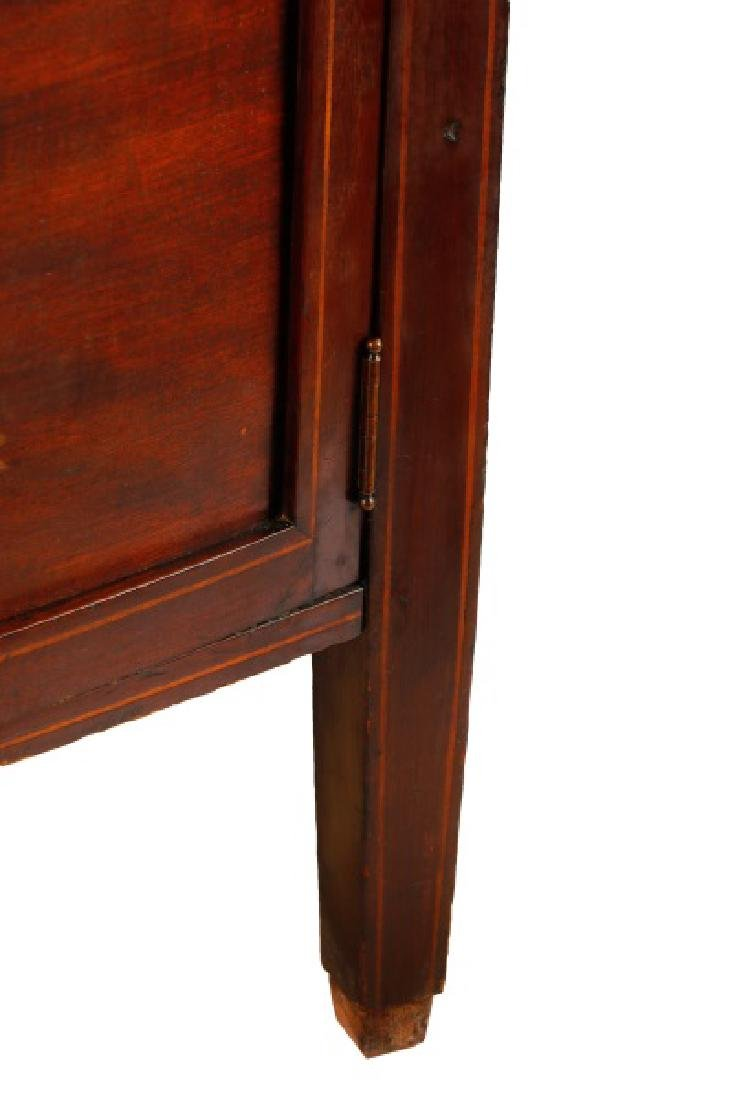 Hahne & Co Inlaid Bowfront Display Cabinet - 7