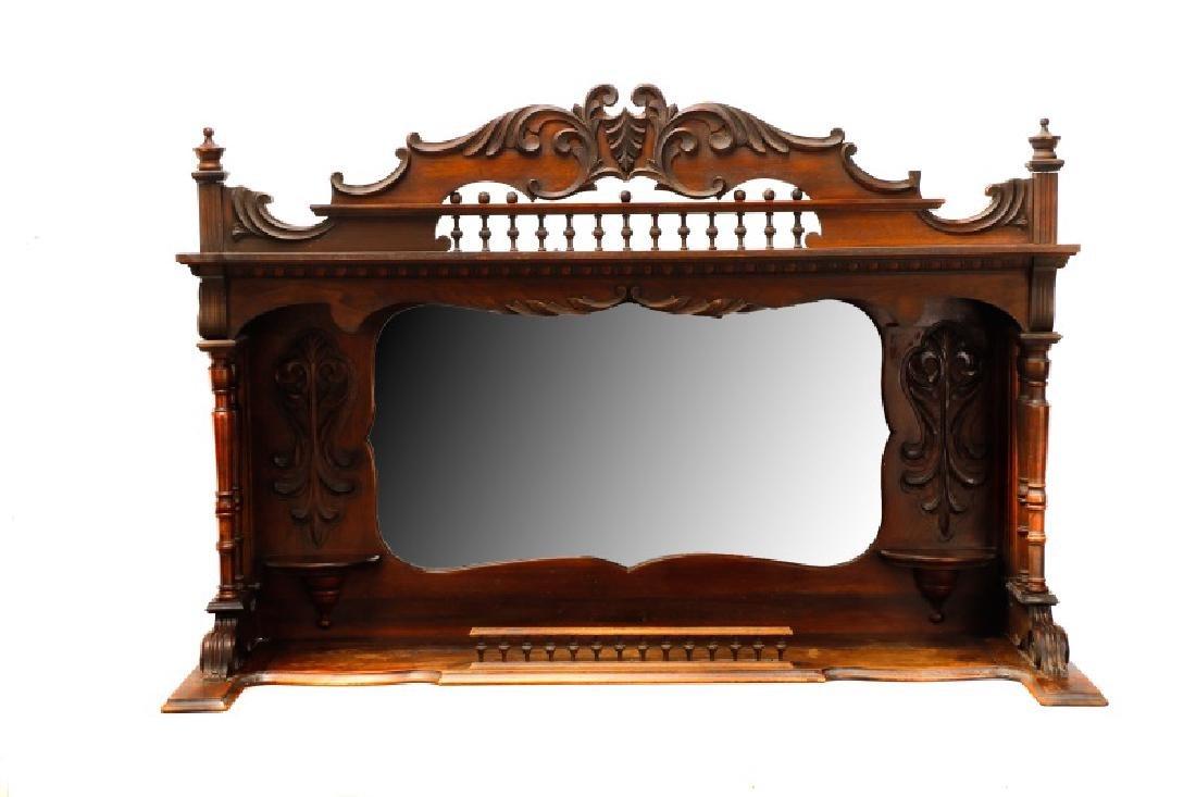 Renaissance Revival Style Sideboard Mirror