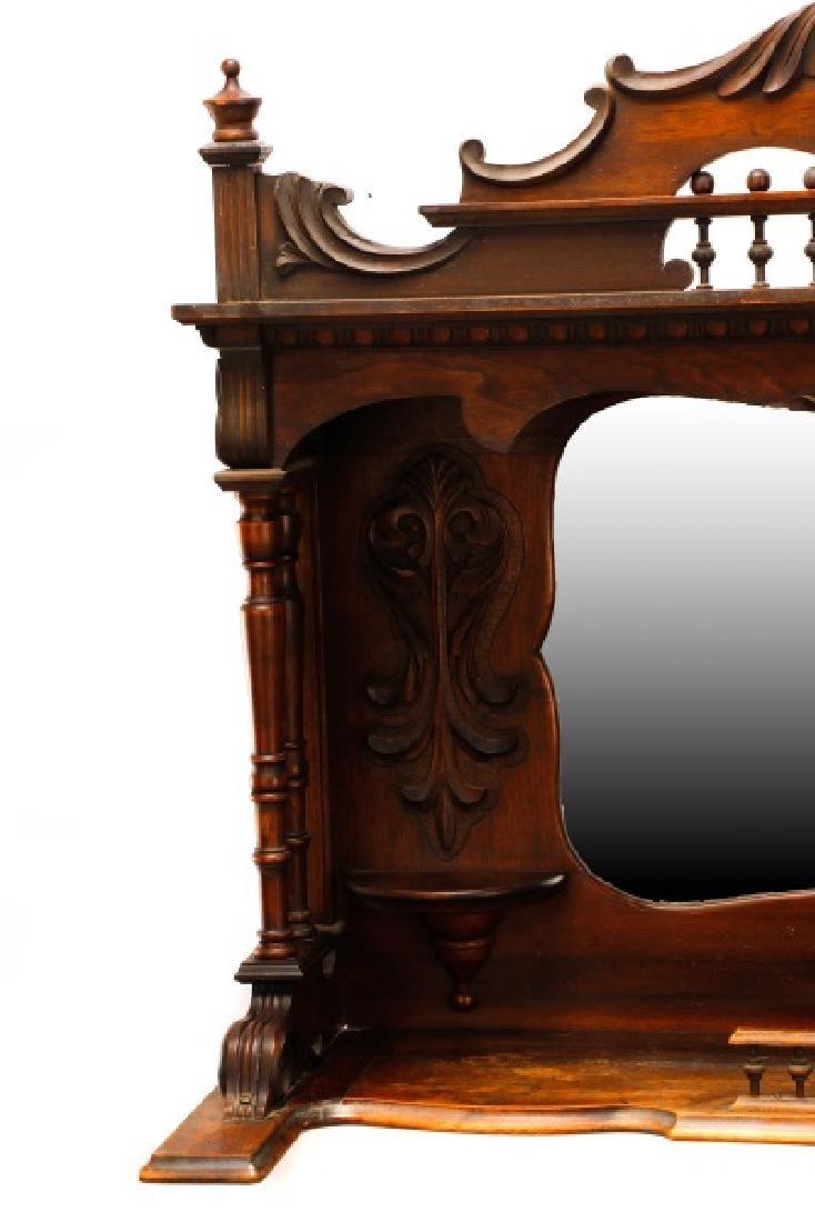 Renaissance Revival Style Sideboard Mirror - 5
