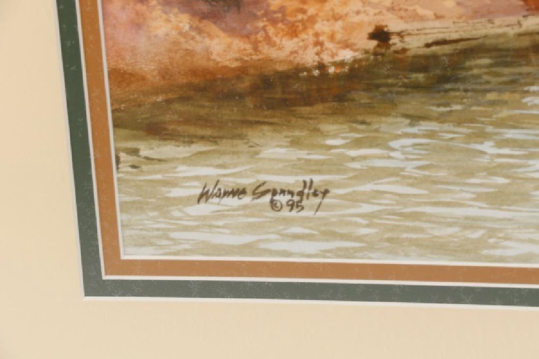 "Wayne Spradley ""Autumnal Landscape"", Watercolor - 2"