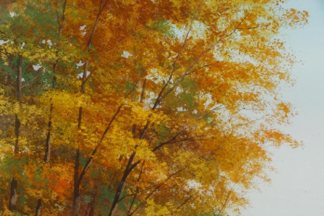 "Wayne Spradley ""Autumnal Landscape"", Watercolor - 3"