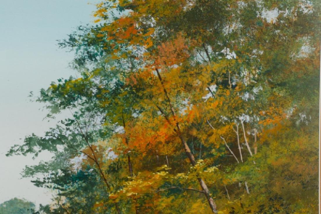 "Wayne Spradley ""Autumnal Landscape"", Watercolor - 4"