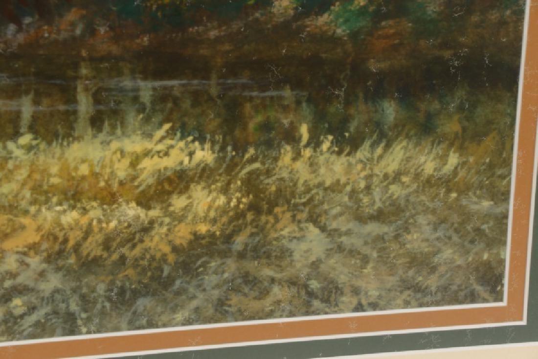 "Wayne Spradley ""Autumnal Landscape"", Watercolor - 6"
