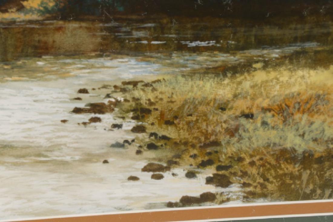 "Wayne Spradley ""Autumnal Landscape"", Watercolor - 7"