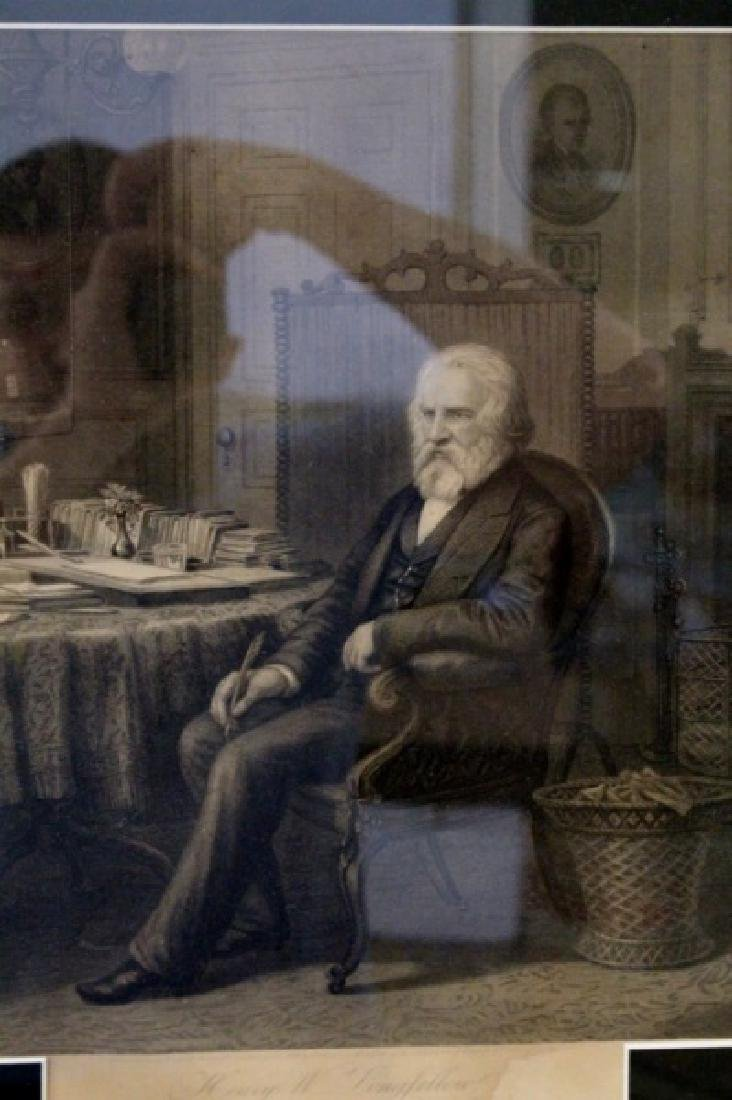 19th C. Henry Longfellow Engraving by Hollyer - 4