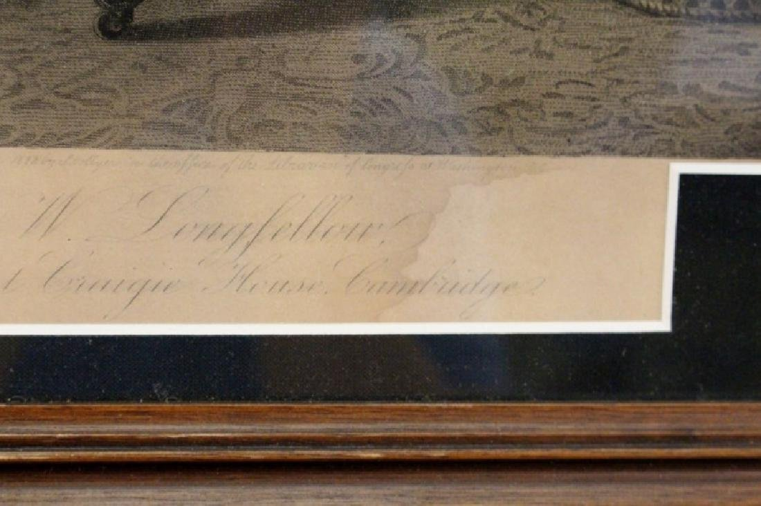 19th C. Henry Longfellow Engraving by Hollyer - 7