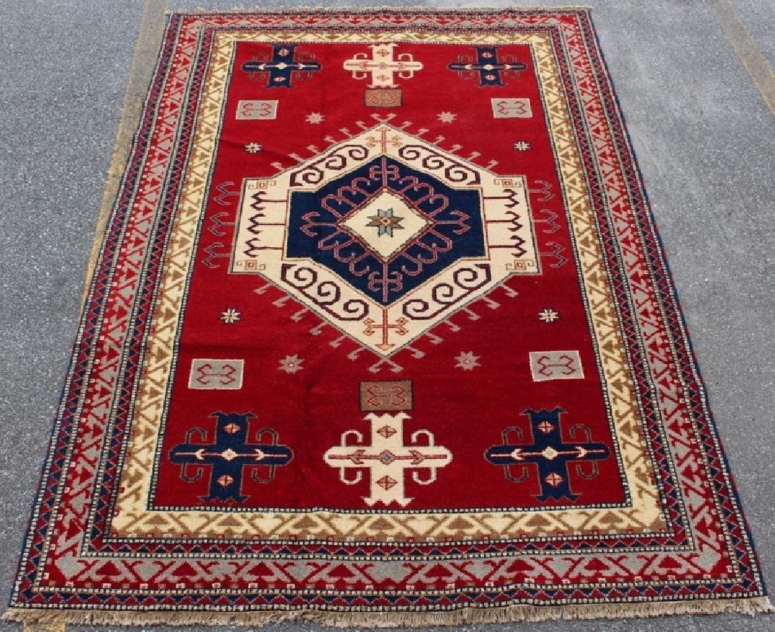 Hand Woven Persian Hamadan, 4' 2'' x 8' 3''