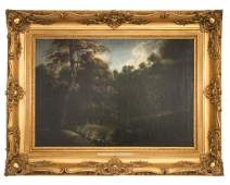 Philip Augustyn Immenraet, 17th C. Landscape, O/C