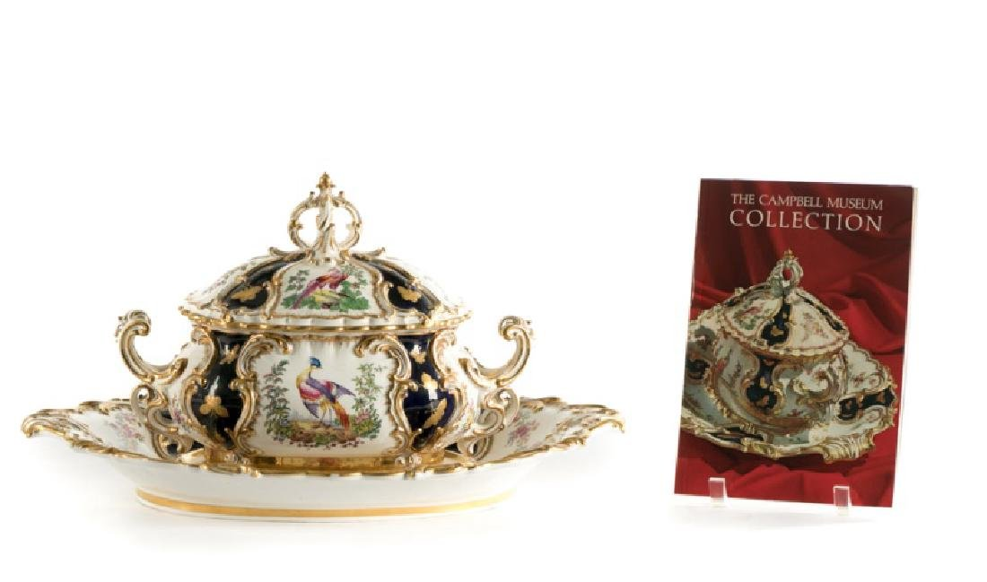 "Copeland Spode 19th C.""Exotic Bird"" Tureen"
