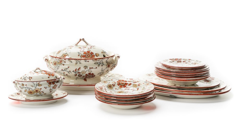 18 Pieces, Ridgway's Children's Dinnerware