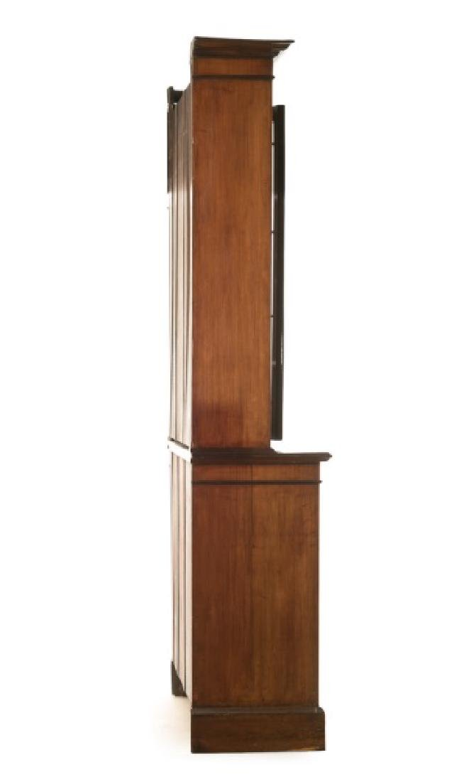 English Mahogany Chippendale Style China Cabinet - 4