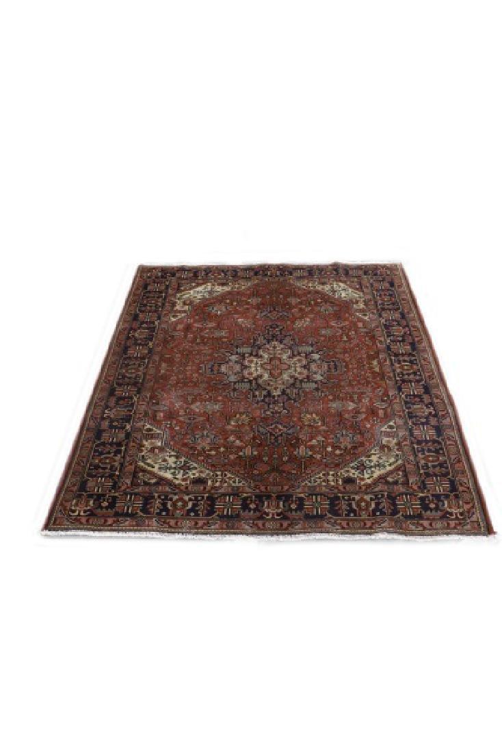 Hand Woven Persian Tabriz 6' 8'' x 9' 6''