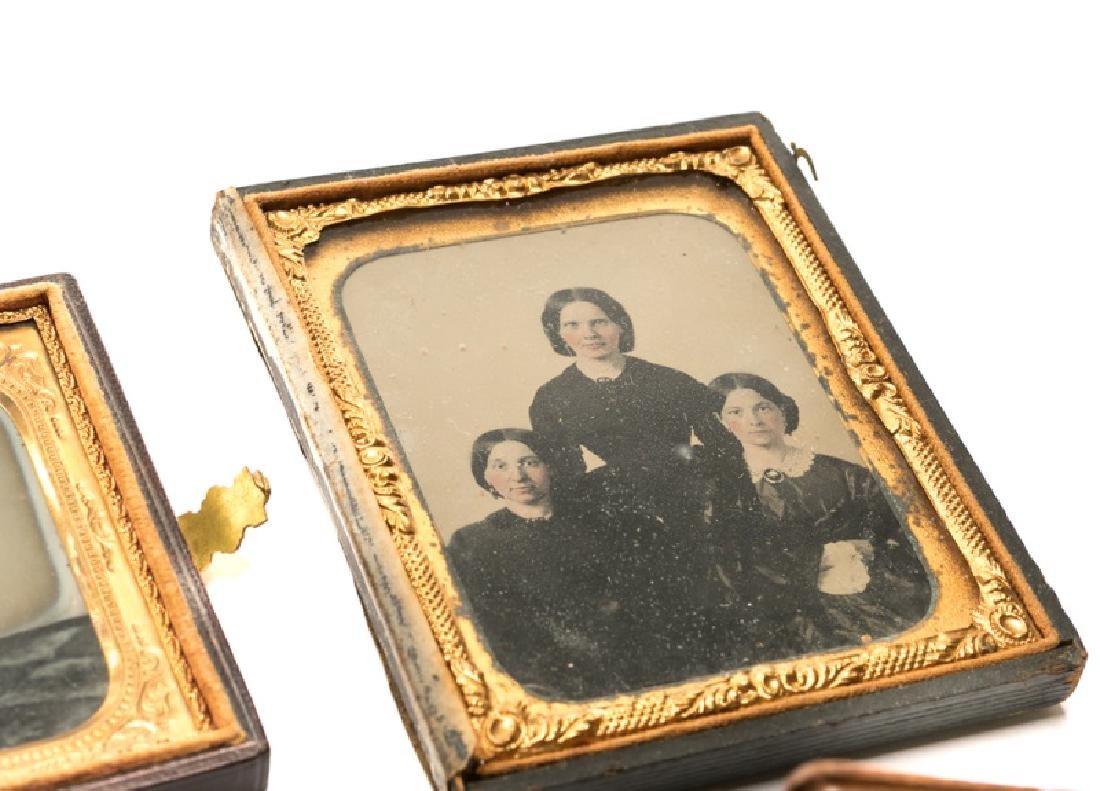 Group of 12 Ambrotypes, Daguerreotypes, Tin Types - 3