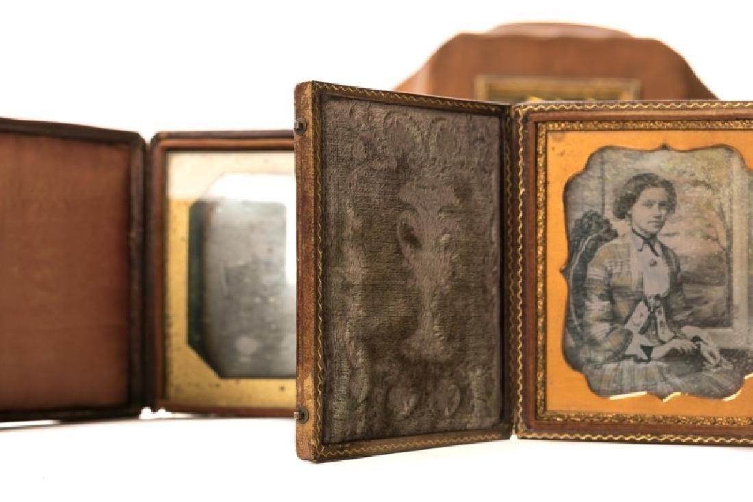 Group of 12 Ambrotypes, Daguerreotypes, Tin Types - 5