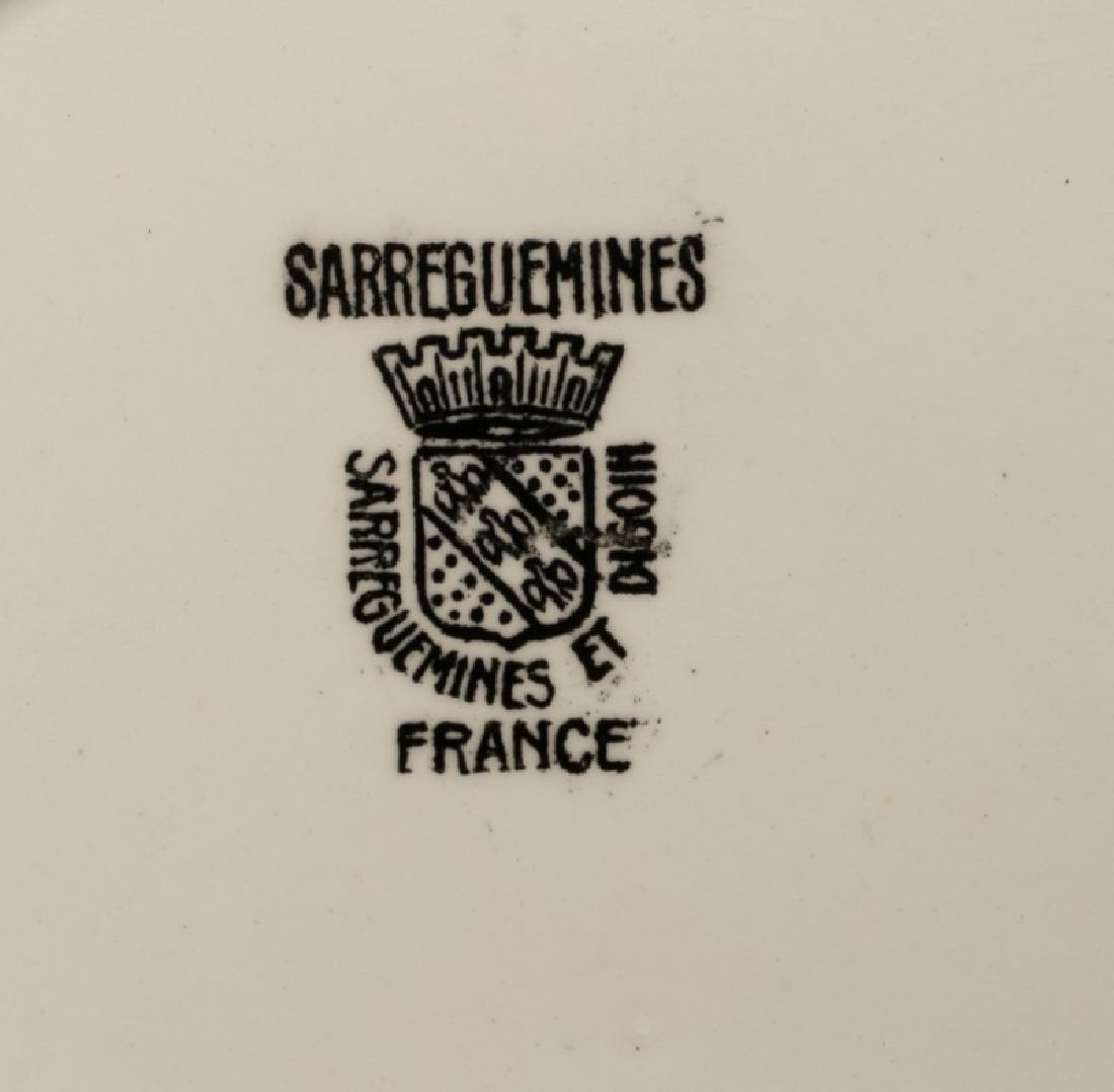 Group of 8 Sarreguemines Napoleonic Plates - 3