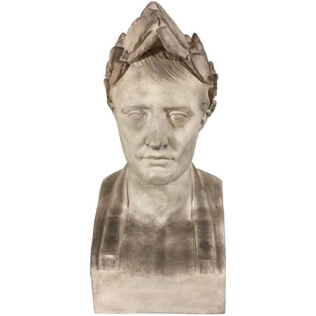 Plaster Bust of Napoleon as Caesar