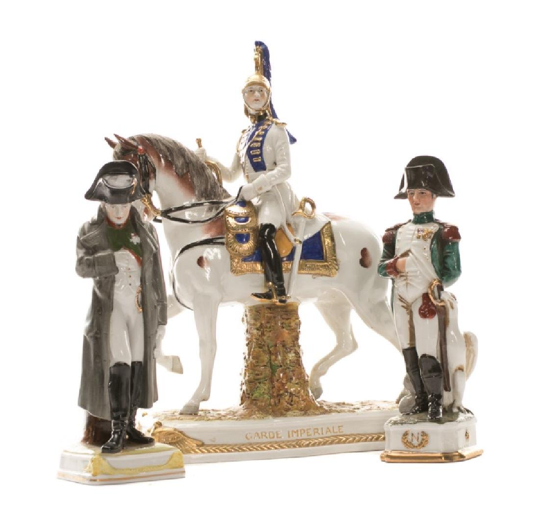 Group of 3 French Revolution Porcelain Figurines
