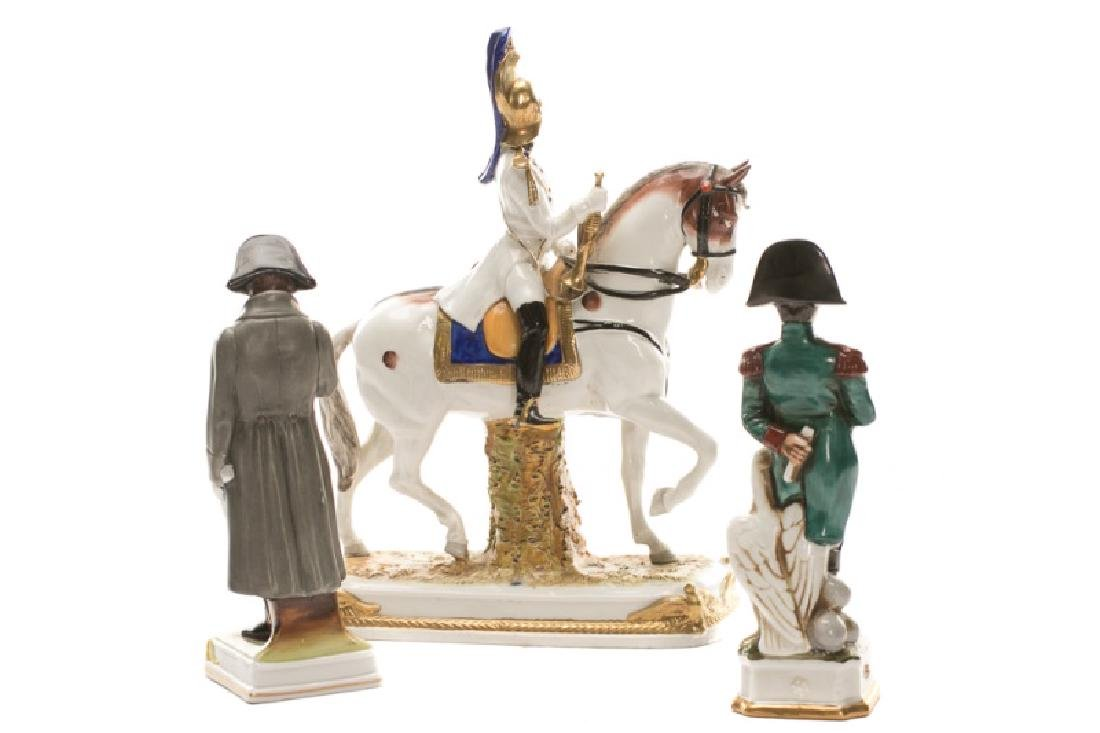 Group of 3 French Revolution Porcelain Figurines - 3