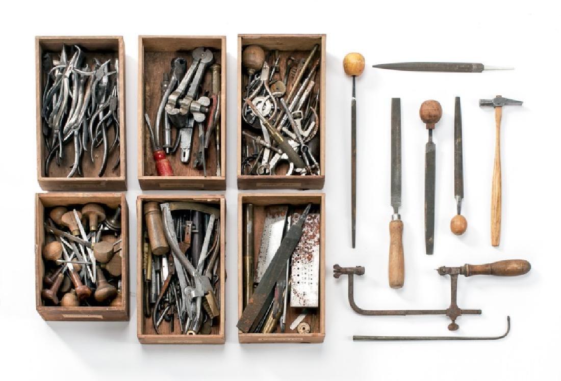 200+ Assorted Antique Jeweler's & Watchmaker Tools