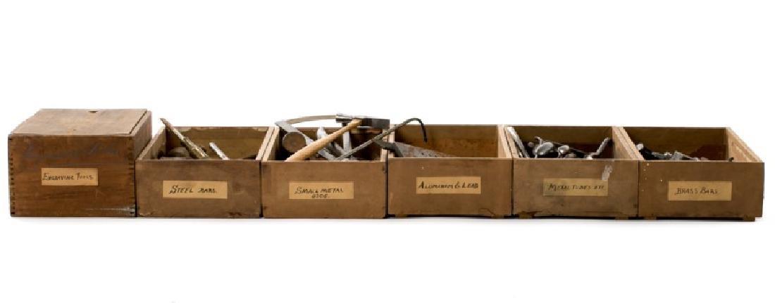 200+ Assorted Antique Jeweler's & Watchmaker Tools - 2