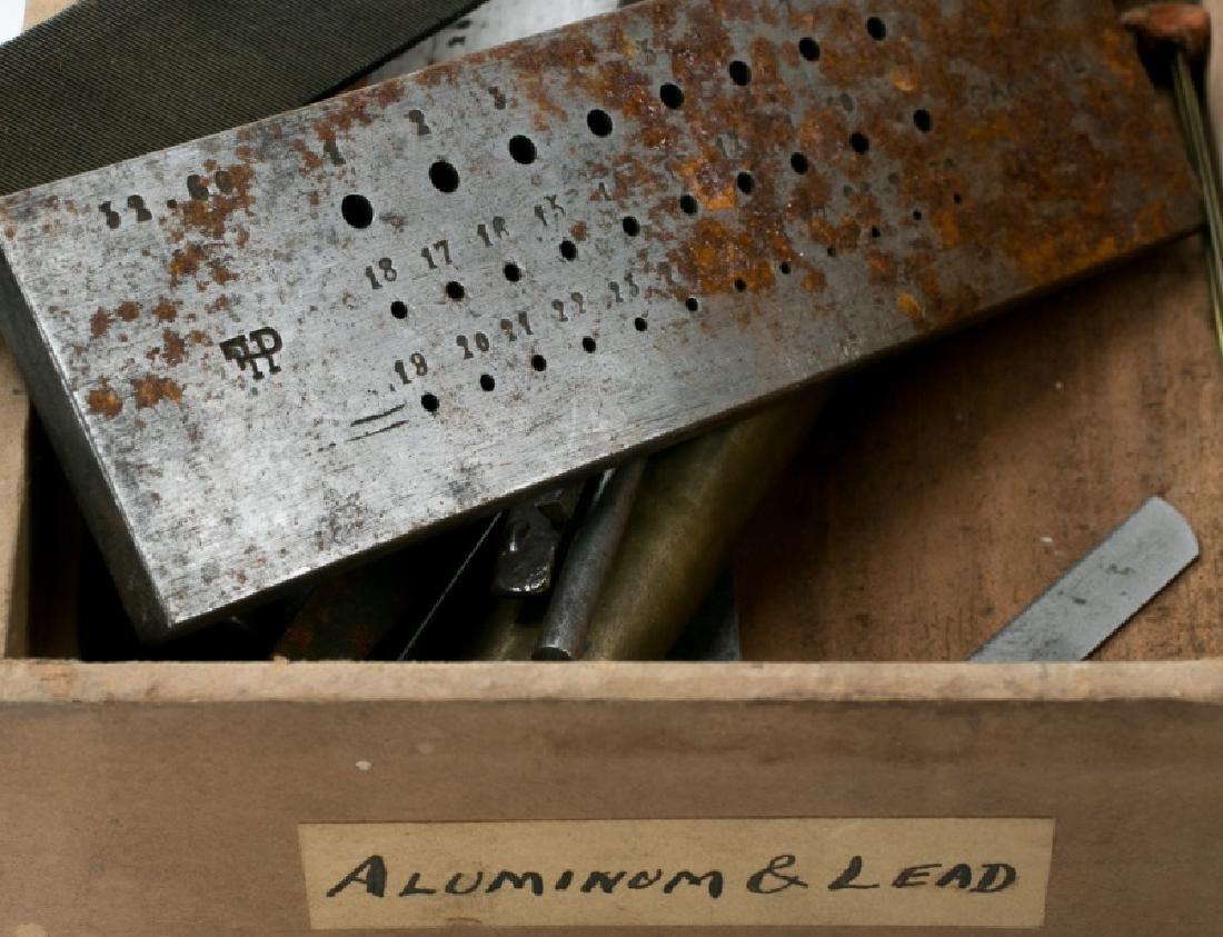 200+ Assorted Antique Jeweler's & Watchmaker Tools - 6