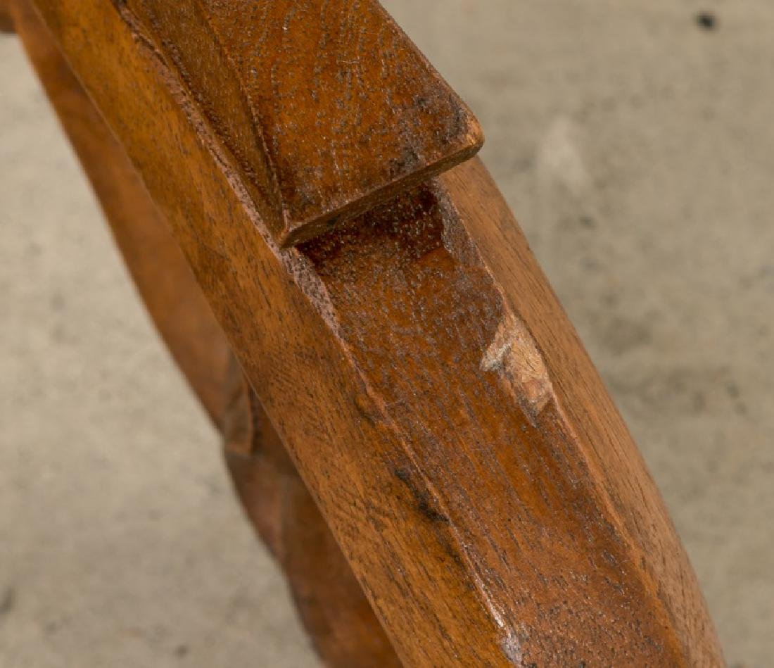 Continental Transitional Cherry Wood Tripod Table - 9