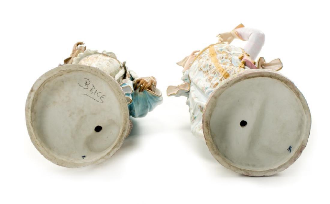 Pair, Continental Porcelain Figurines - 3
